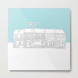 Camperdown Park Terraces - Blue Metal Print