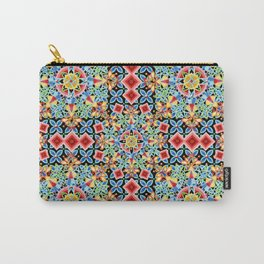 Cosmic Ombre Mandala Carry-All Pouch