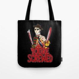 Slasher Mash (SFW) Tote Bag