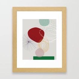 modern abstract VI Framed Art Print