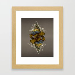Monster of the Week: Walking Cities of Bas (Mirror) Framed Art Print