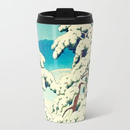 A Morning in the Snow Travel Mug