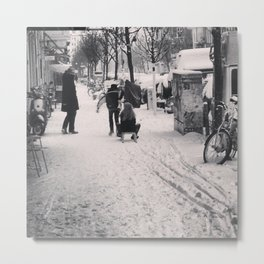Berlin In Winter Metal Print