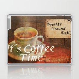 It´s Coffee Time Laptop & iPad Skin