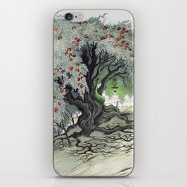 Old Tree At The Witch House iPhone Skin