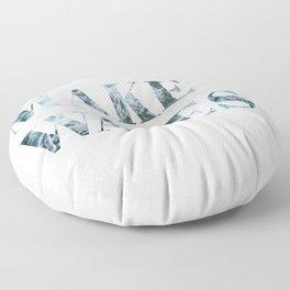make waves Floor Pillow