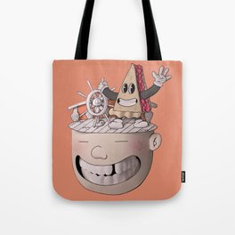 Pie Brains Tote Bag