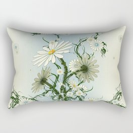 RoboFlower Rectangular Pillow