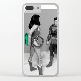 It's Over! Clear iPhone Case