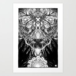 From Where its Roots Run Art Print