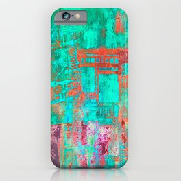 Abstract Ladder iPhone Case