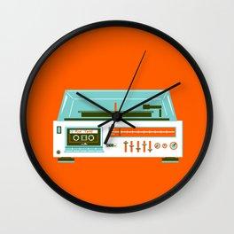 Mix Tape - I love the 80s Wall Clock