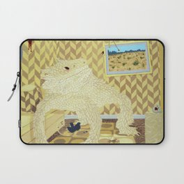 Horned Lizard Laptop Sleeve