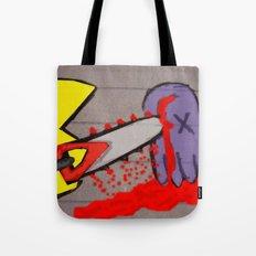 killer pacman Tote Bag