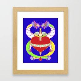 Love (Lucky Number 8) Framed Art Print