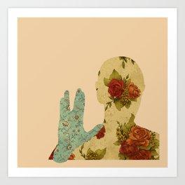 Roses and Logic Art Print