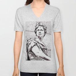 Julius Caesar Unisex V-Neck
