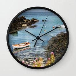 Bull Bay Boats Wall Clock