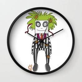 Beetle Juice Tribute Wall Clock