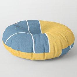 Tennis Player Floor Pillow