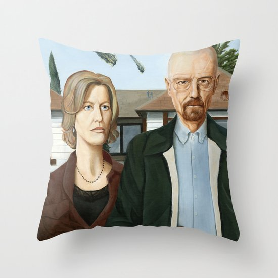 The Heisenbergs Throw Pillow
