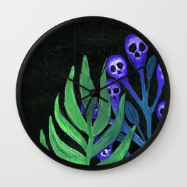 garden flowers Wall Clock