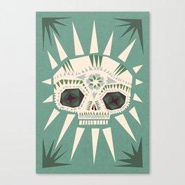 Sugar skull II Canvas Print