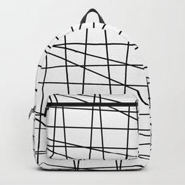 Gossamer. Black and white.2 Backpack