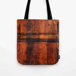 Pathway (Rust Abstract) Tote Bag