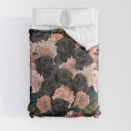 Because Black Pug Comforters