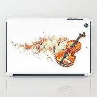 violin iPad Cases featuring violin by arnedayan