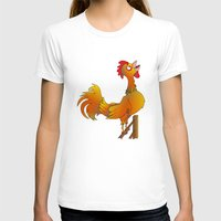 rooster T-shirts featuring Rooster  by mailboxdisco