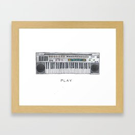 Play with Color Framed Art Print