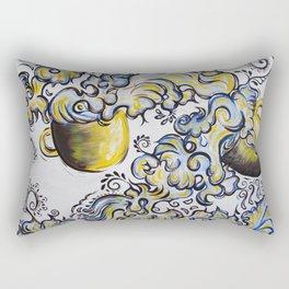 Deja Brew Rectangular Pillow