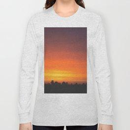 SUNRISE - SUNSET - ORANGE SKY - PHOTOGRAPHY Long Sleeve T-shirt