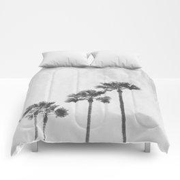 PALM TREES XVII / Baja California, Mexico Comforters