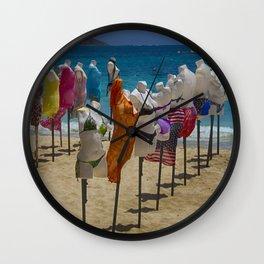 Beach bodies Wall Clock