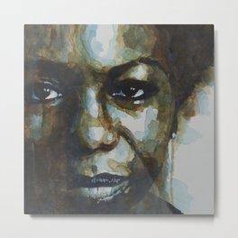 Nina Simone Metal Print