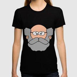 Senior Citizen T-Shirt Gift Cartoon senior citizen T-shirt