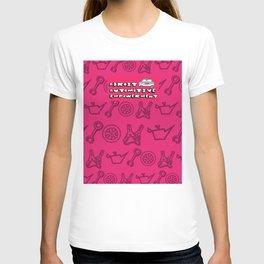 Adroit Pink Logo T-shirt