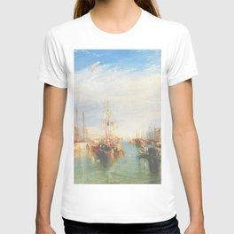 Venice from the Porch of Madonna della Salute by Joseph Mallord William Turner ca. 1835, British T-shirt