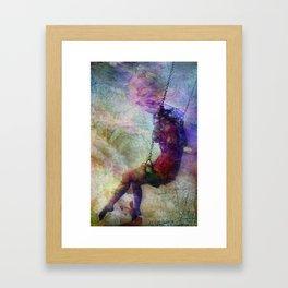 Baloiço Framed Art Print