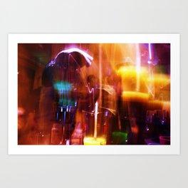 NewYearsLights Art Print