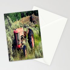 Wanna Take A Ride On My Tractor? Stationery Cards