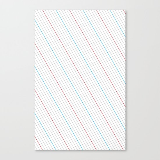 Simple Lines Canvas Print