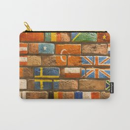 flags Wall Carry-All Pouch