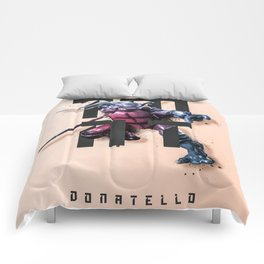 Heroes and Villains Series 2: Donatello Comforters