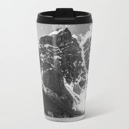Mountains Black and White Photography Landscape Travel Mug