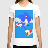 sonic T-shirts featuring Sonic(Smash) by ejgomez