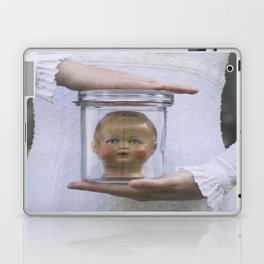 Doll in a jar Laptop & iPad Skin